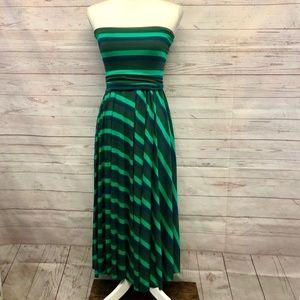 Nadia Tarr Paris Lyon strapless maxi dress